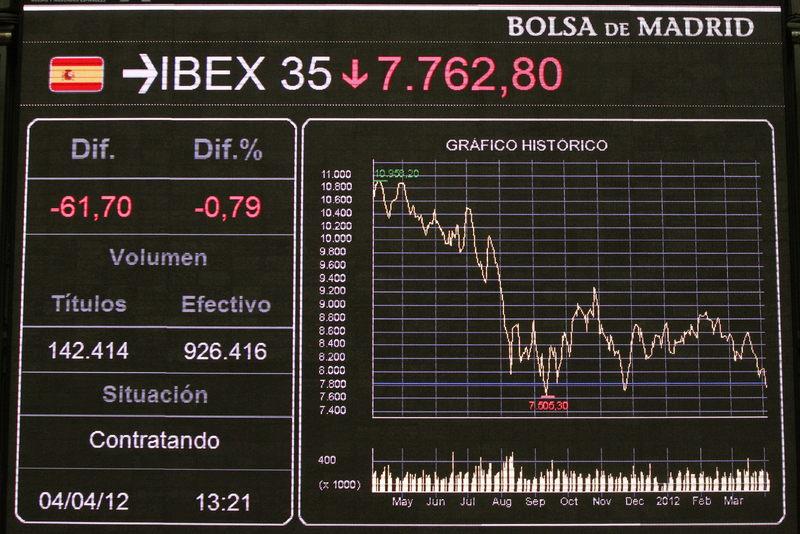 Las Bolsas europeas se contagian de USA