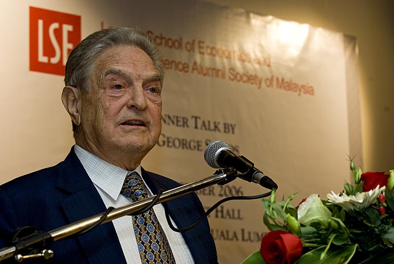 George Soros se apunta a Banco Santander